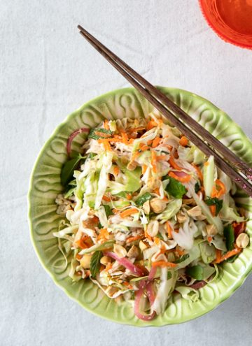 Bowl of Vietnamese Chicken Salad