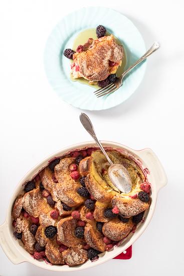 Overnight Berry French Toast Bake
