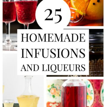 Collage of infusions.