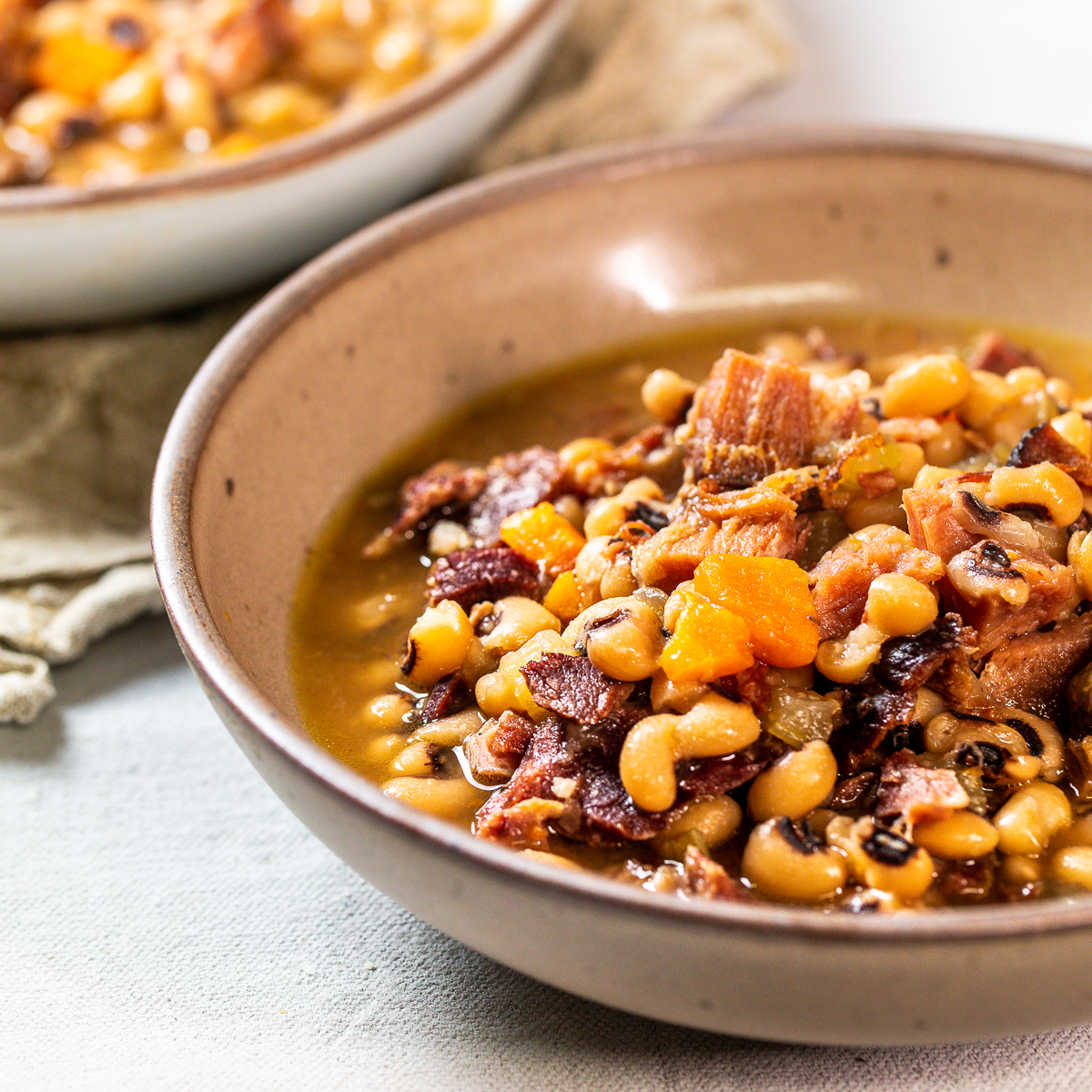 black eyed peas in an instant pot