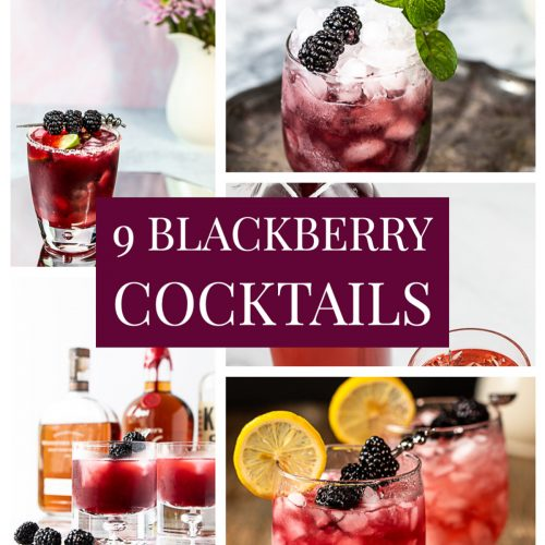 9 Blackberry Cocktails that are Bursting with Flavor!