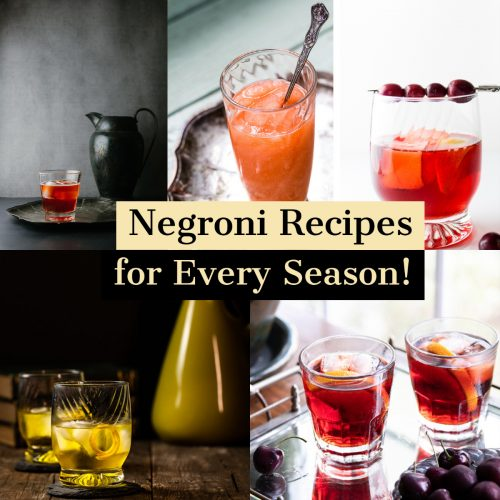 The Best Negroni Recipes for Every Season!
