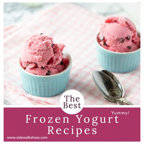 Cool and Creamy Frozen Yogurt Recipes to Get You Through Summer!